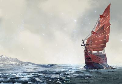 Icy seas on Glimnodd