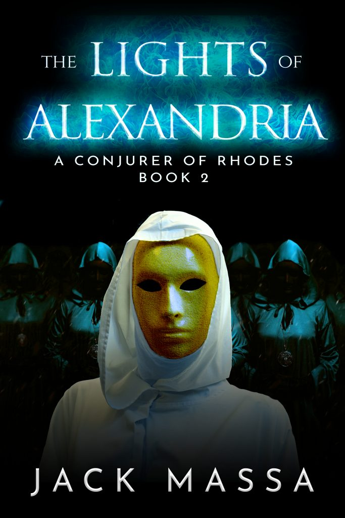 Book cover: The Lights of Alexandria