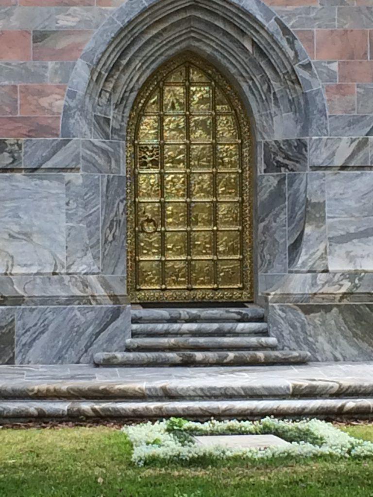 Tower Bronze Door