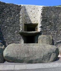 Newgrange Neolithic Site in Ireland
