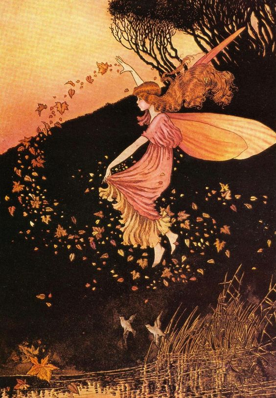 Autumn Fairy by Ida Rentoul Outhwaite