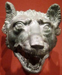 Bronze Wolf's Head