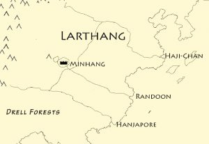 Map of Larthang
