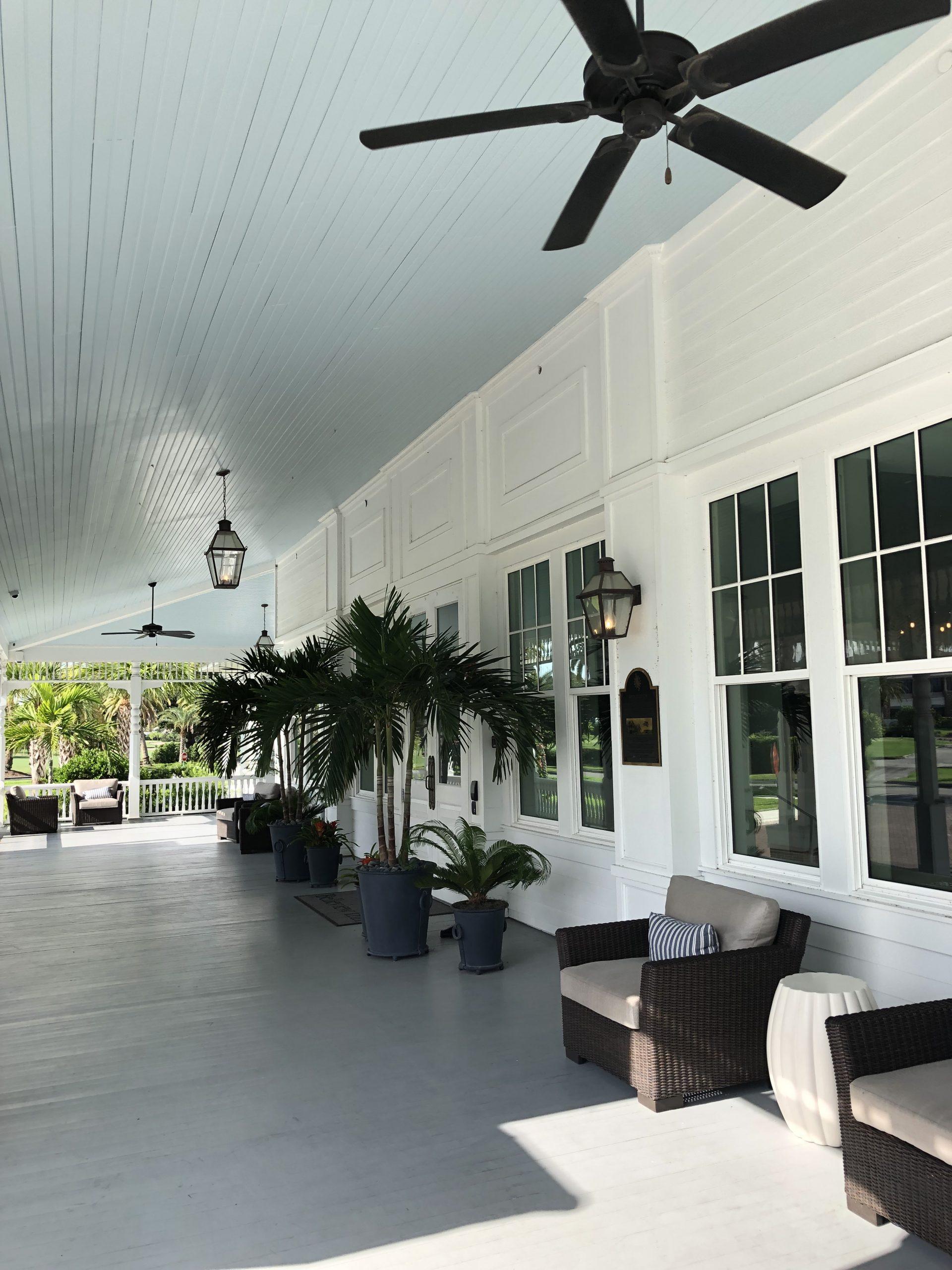 Belleview Inn porch